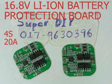 16.8V 4S 20A Li-ion Lithium Protection PCB Board