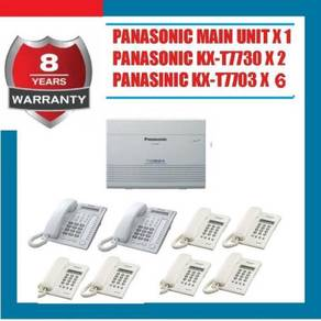 8.NEW Papx keyphone system 824 panasonic-50yr
