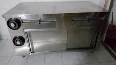 Cashier counter with install cup dispenser