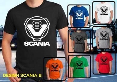 Tshirt Baju SCANIA S3 TSV Siap Pos Laju