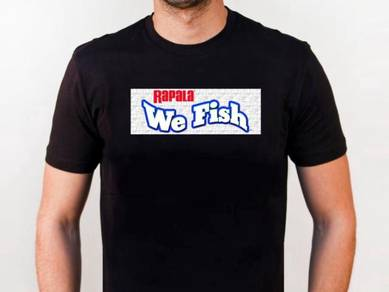 Tshirt Baju RAPALA R1 TSV Siap Pos Laju