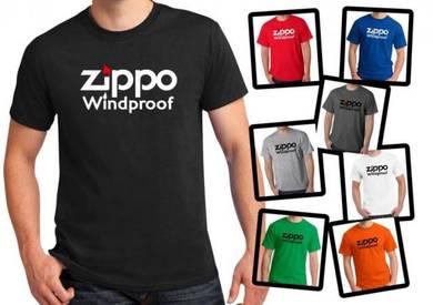 Tshirt Baju ZIPPO Z1 TSV Siap Pos Laju