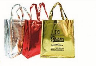Bags Non Woven Fabric Lamination Shine