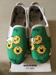 Flossy Style Mr Happy kids unisex shoes