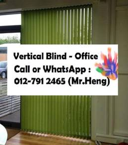 Office Vertical Blind with installation YA31