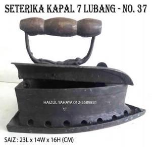 Seterika Kapal 7 Lubang - No. 37