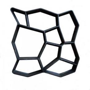 DIY Acuan Simen - Concrete Mold (Random Stone)