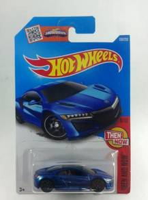 Hotwheels '17 Acura NSX #8 Blue