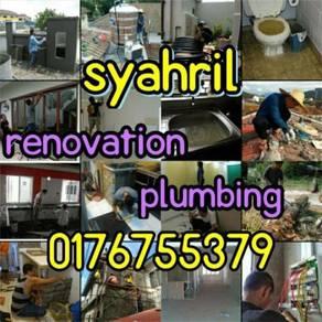 Professional plumber. Area ampang