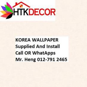 3D Korea Wall Paper with Installation K381W