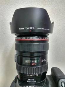 Canon 24-105 L good condition
