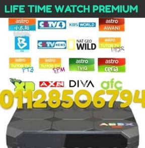 ANDROID TV BOX +MyXTRO 4K PREMIUM TV Channals