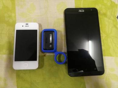 IPhone 4s 16gb Asus Zenfone 2 Laser