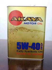 AKAYA Motor Oil Fully Synthetic 5W40 (JAPAN)