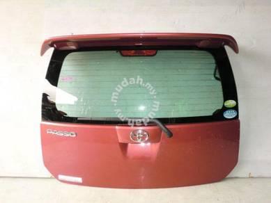 JDM Parts Toyota Passo Myvi Rear Bonnet Spoiler