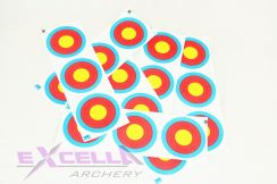 JVD Archery Target Face FITA 3x20cm Vertical