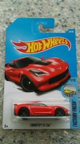 HotWheels Corvette C7 Z06 Red