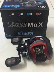 (NEW) BANDIT BASS MAX Fishing Bait Casting Reel