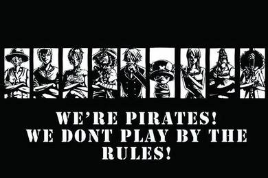 Poster ONE PIECE PIRATES