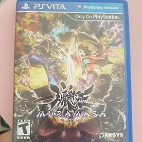 Muramasa Rebirth - Playstation Vita Games