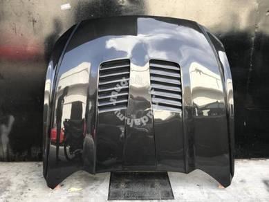 Ford mustang carbon fiber hood vented gt350 bonnet