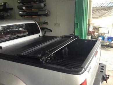 Mitsubishi triton tri fold deck cover softlid 1