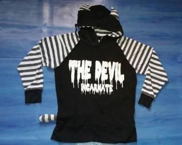 Sweater custom DEVIL (M) free pos