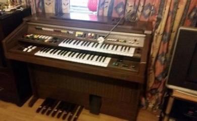 Yamaha Electone C-55n C55n Electric Organ (Double