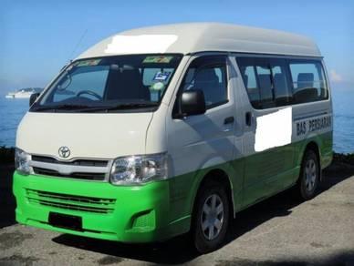 Toyota hiace window van 2.5 (d)