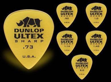 A- Jim Dunlop Ultex Guitar Pick Plectrum (6 pcs)
