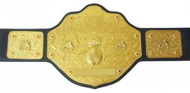 WWE WWF Heavyweight wrestling Champion Title Belt