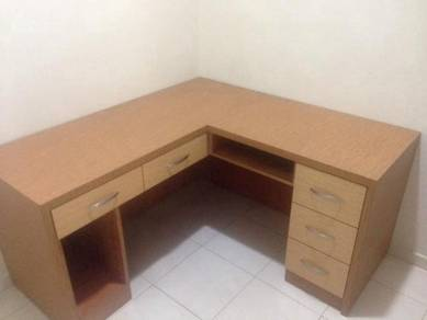 L Shape Office Desk