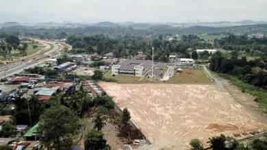 Tanah Lot Bangi Lama Freehold Dijual, Nama Masuk Geran Tittla Bangunan