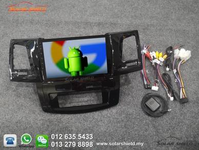 Toyota Fortuner Android Player With GPS Waze 4G