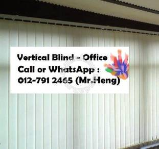 Window Covering with Vertical Blind UA13