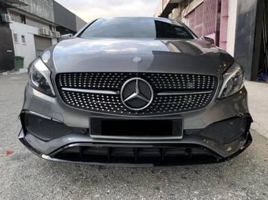 Mercedes W176 Facelift A45 canard A45 AMG canard