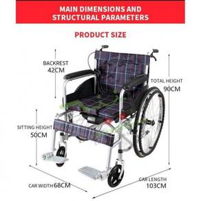 Wheelchair kerusi roda wheel chair new item