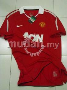 Manchester United Home 10-11 Player Issue Size L