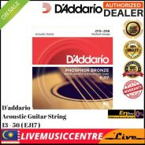 DAddario EJ17 Acoustic GUITAR Strings EJ17