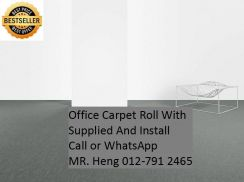 Office Carpet Roll with Expert Installation 88TD