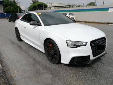 Audi A5 S5 RS 5 Rieger side skirt bodykit