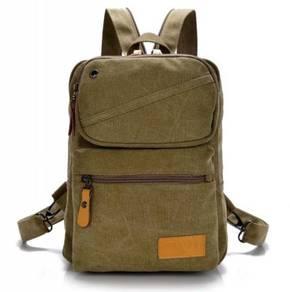 4242 Stylish Dual-Use Backpack Khakis Chest Bag