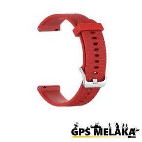 Silicone Band Strap Garmin Vivoactive 4S Red 18mm