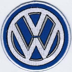 Volkswagen Rally Car Motorsport Racing Patch Badge