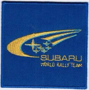 Subaru World Rally Team Car Motorsport Patch Badge