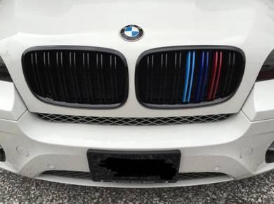 BMW E70 E71 X5 X6 Grill Double Fin Color Grille
