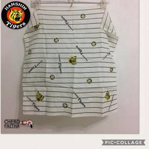 Kain sapu tangan Hanshin Tigers scarf handkerchief