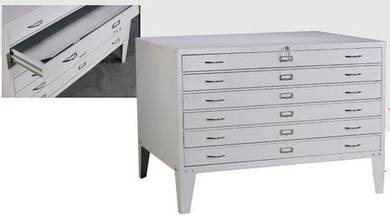 Steel Horizon Plan File Cabinet HP4030AQ 1460mmW