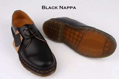 Dr Martens 1461 3 Eye Original Black Nappa
