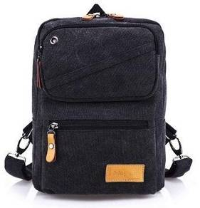 4242 Stylish Dual-Use Backpack Black Men Chest Bag